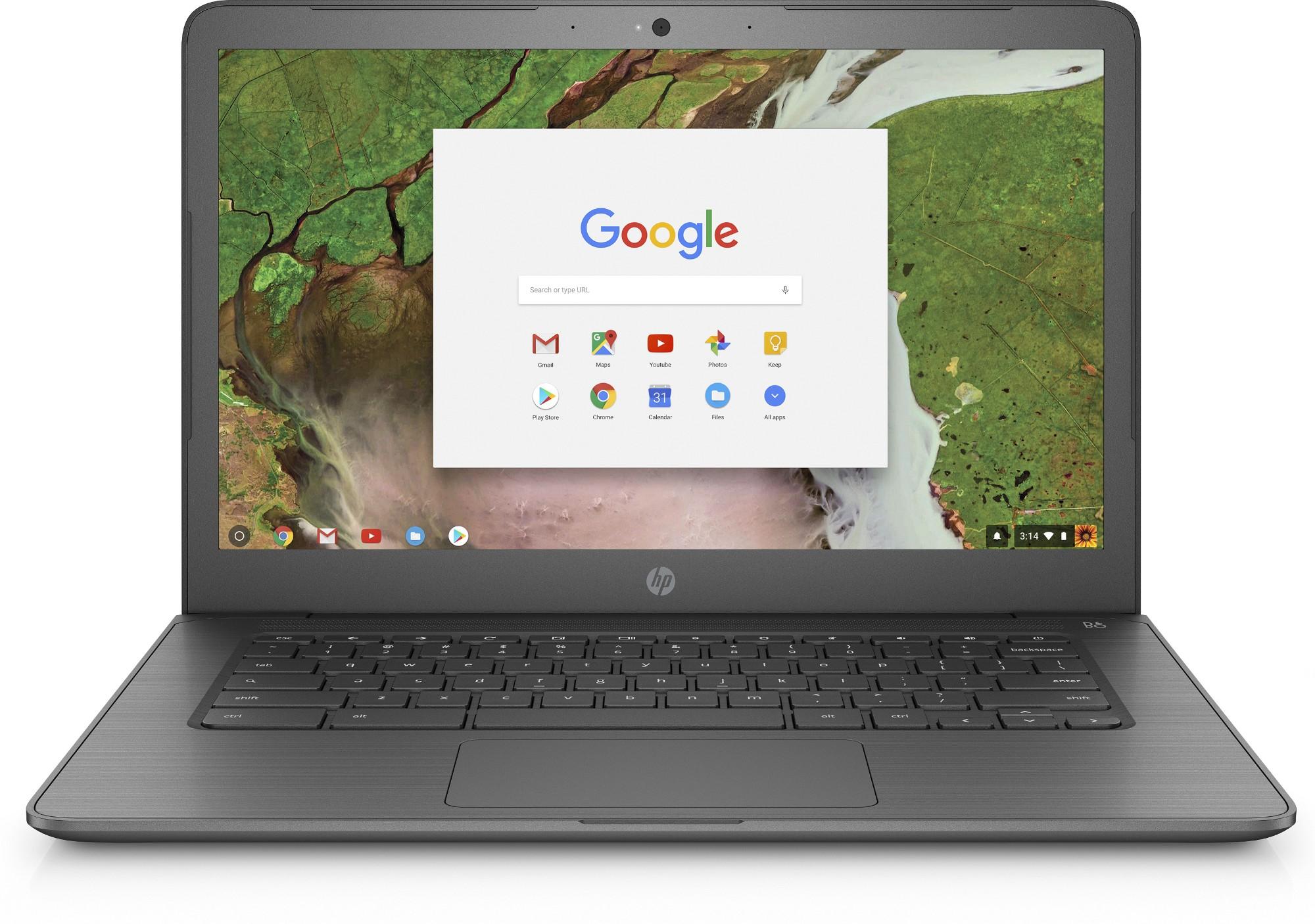 "HP Chromebook 14 G5 1.10GHz N3350 14"" 1366 x 768pixels Bronze Chromebook"