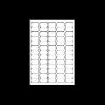 Avery Clear Mini Label- Ink jet - J8551 Transparent
