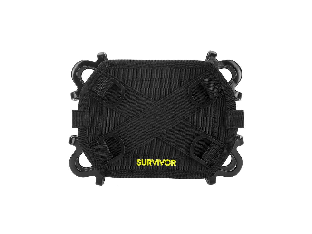 "Griffin Survivor Harness Kit 26.7 cm (10.5"") Black"