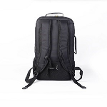 "Access Backpack for up to 18"" NB, Black with Yellow linings, Nylon 210D, Water resistant"