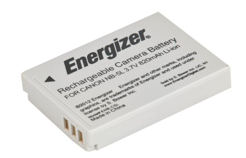 Energizer Replaces Canon NB-5L