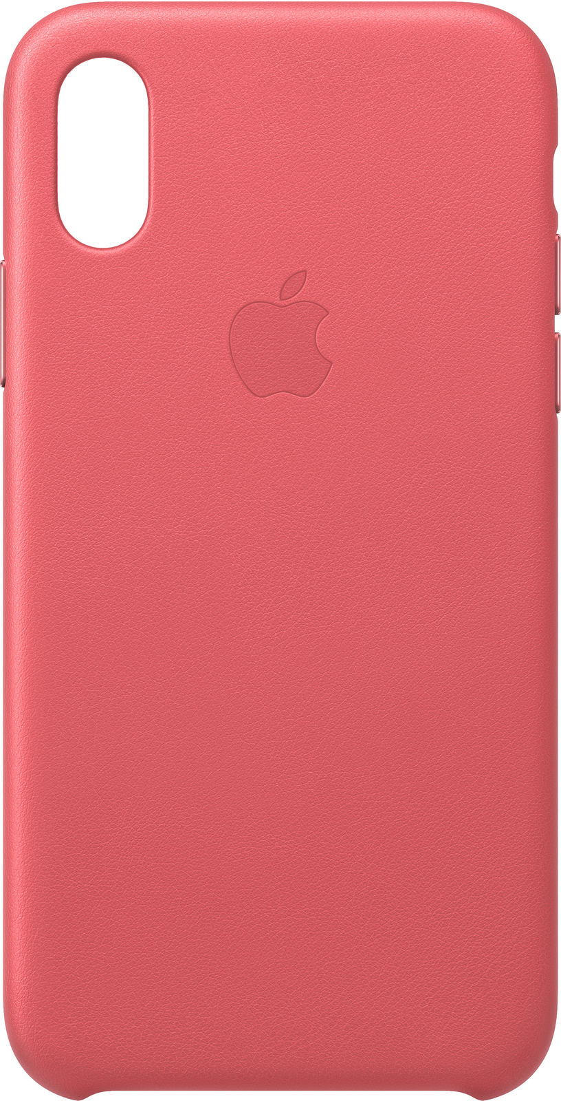 iPhone Xs - Leather Case - Peony Pink