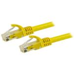 "StarTech.com N6PATC15MYL networking cable Yellow 590.6"" (15 m) Cat6 U/UTP (UTP)"