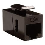 Cablenet Cat5e UTP Female-Female Keystone Black
