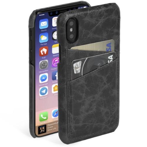 Krusell Tumba 2 mobile phone case Cover Black