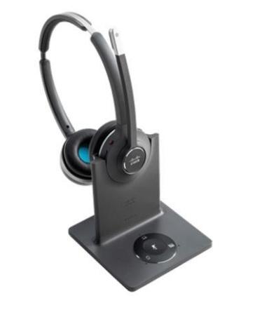 Cisco 562 Headset Head-band USB Type-A Bluetooth Black, Grey