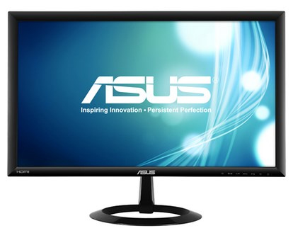 """ASUS VX228H 21.5"""" Black Full HD LED display"""