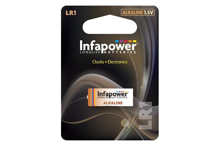 INFAPOWER LR1 Alkaline Battery 1.5V