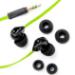 Veho Z-1 Auriculares Dentro de oído Negro, Verde