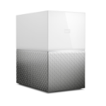 Western Digital My Cloud Home Duo personal cloud storage device 16 TB Eingebauter Ethernet-Anschluss Weiß