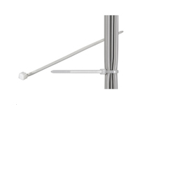 MICROCONNECT CAB-TIE CABLE TIE WHITE 100 PC(S)