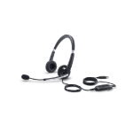 DELL UC300 Binaural Head-band Black headset