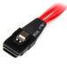 StarTech.com 50cm Internal Serial Attached SCSI Mini SAS Cable - SFF8087 to 4x SFF8482 SAS808782P50