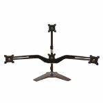 """Amer AMR4S+ 24"""" Black flat panel desk mount"""