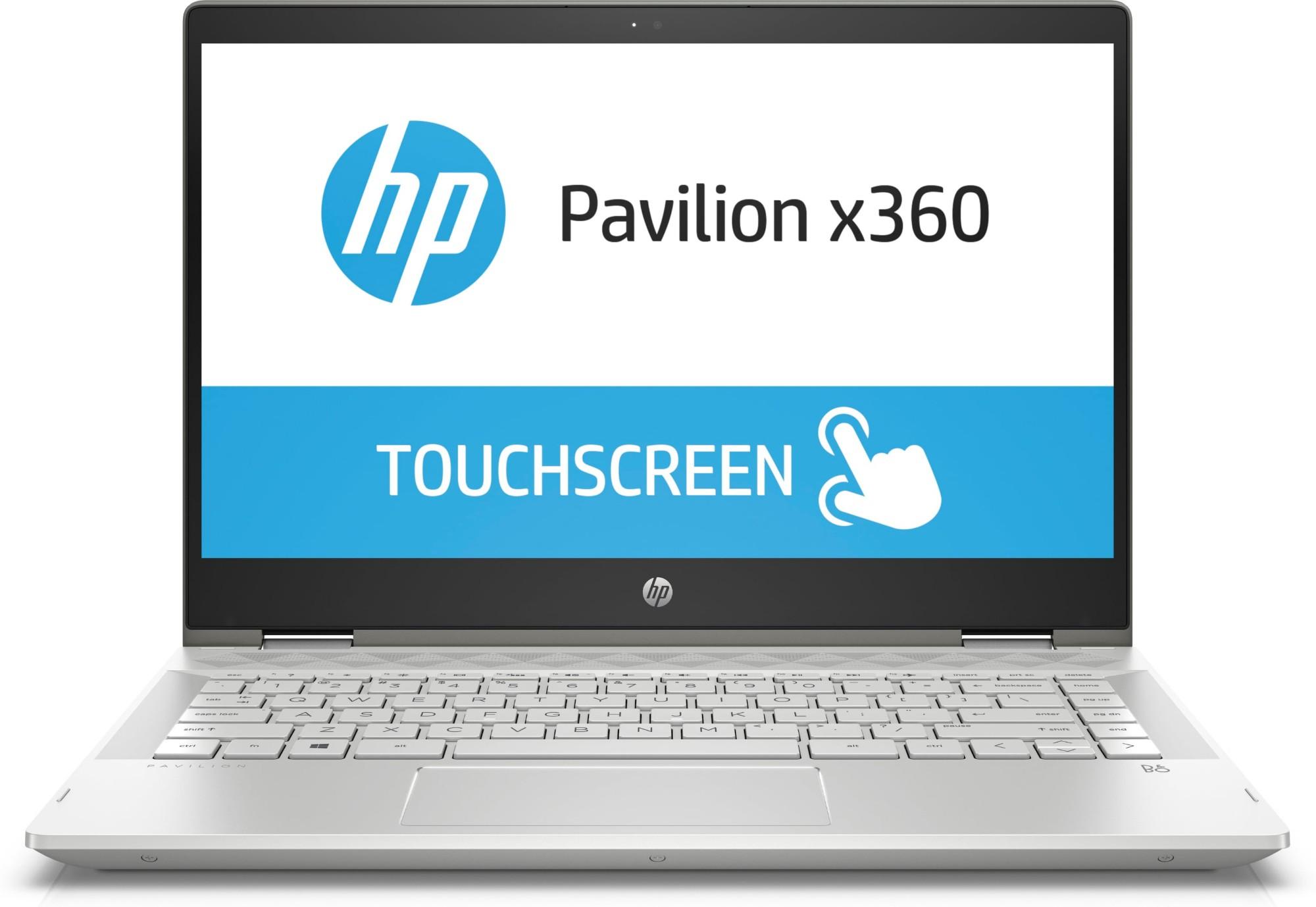 HP Pavilion x360 14-cd1000na Silver Hybrid (2-in-1) 35 6 cm (14