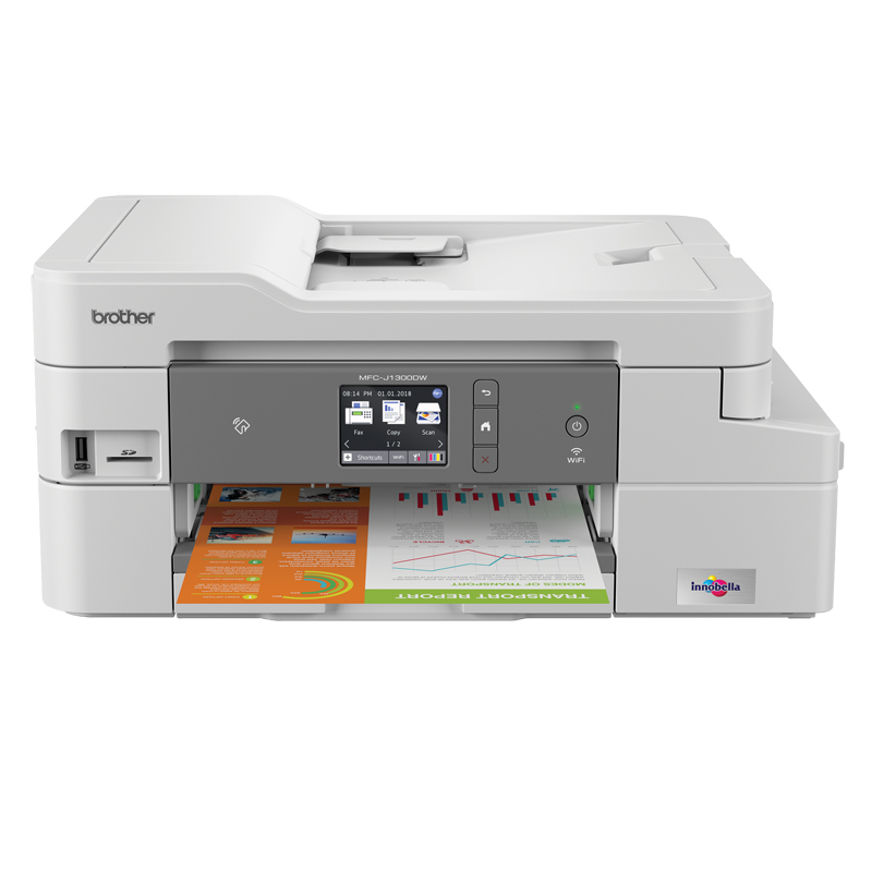 Mfc-j1300dw - Colour Multi Function Printer - Inject - A4 - USB / Ethernet / Wi-Fi / Nfc