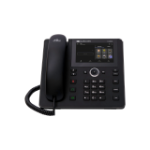AudioCodes C448HD IP phone Black Wired handset 8 lines TFT