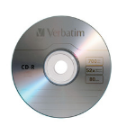 Verbatim 97955 CD-R 700MB 10pcs Read/Write CD