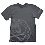 UNCHARTED 4: A Thief's End Pirate Coin Oversize T-Shirt, Small, Black (GE1899S)