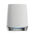 Netgear Orbi WiFi6 Satellite Network repeater 2400 Mbit/s Stainless steel, White