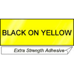 Brother TZES661 Yellow printer label