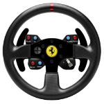 Thrustmaster Ferrari 458 Challenge Wheel Add-On Steering wheel PC, Playstation 3 Black