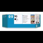 HP 90 zwarte DesignJet printkop en printkopreiniger