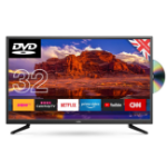 "Cello C32SFSD TV 81.3 cm (32"") WXGA Smart TV Wi-Fi Black"