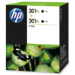 HP 301XL Original Negro Multipack 2 pieza(s)