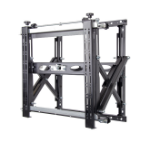 B-Tech Heavy Duty Pop-Out Flat Screen Wall Mount with Quick Lock Push System