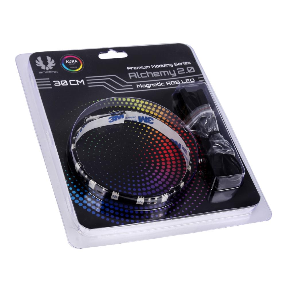 BitFenix BFA-RGB-30MK15N-RP 3.6W Blue,Green,Purple,Red,White,Yellow LED bulb LED strip