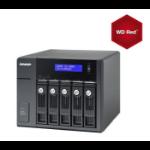 QNAP UX-500P 10TB RED 5 Bay Expansion