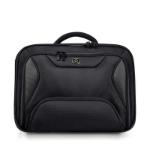 """Port Designs MANHATTAN 17.3"""" Briefcase Black"""
