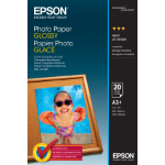 Epson Photo Paper Glossy - A3+ - 20 sheets