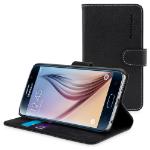 "TheSnugg B00TK2WQPQ 5.1"" Folio Black mobile phone case"
