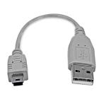 StarTech.com 6in Mini USB 2.0 Cable - A to Mini B
