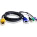 Aten 2L-5303UP 3m Black KVM cable