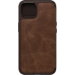OtterBox Strada Folio Series para Apple iPhone 13, Espresso Brown