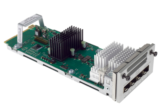Cisco C3850-NM-4-1G= módulo conmutador de red Ethernet rápido, Gigabit Ethernet