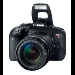 Canon EOS Rebel T7i + EF-S 18-55 IS STM SLR Camera Kit 24.2MP CMOS 6000 x 4000pixels Black
