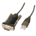 Lindy USB Serial Adapter Lite USB RS-232 Grey cable interface/gender adapter