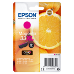 Epson C13T33634012 (33XL) Ink cartridge magenta, 650 pages, 9ml