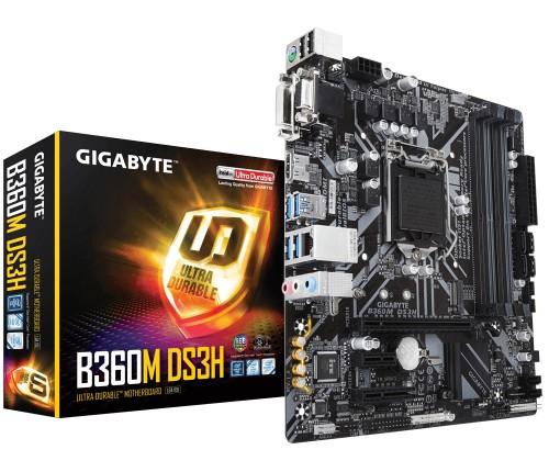 Gigabyte B360M DS3H motherboard LGA 1151 (Socket H4) Intel B360 Express micro ATX
