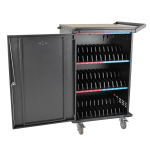 Tripp Lite 36-Device AC Charging Station Cart for Chromebooks and Laptops, Black