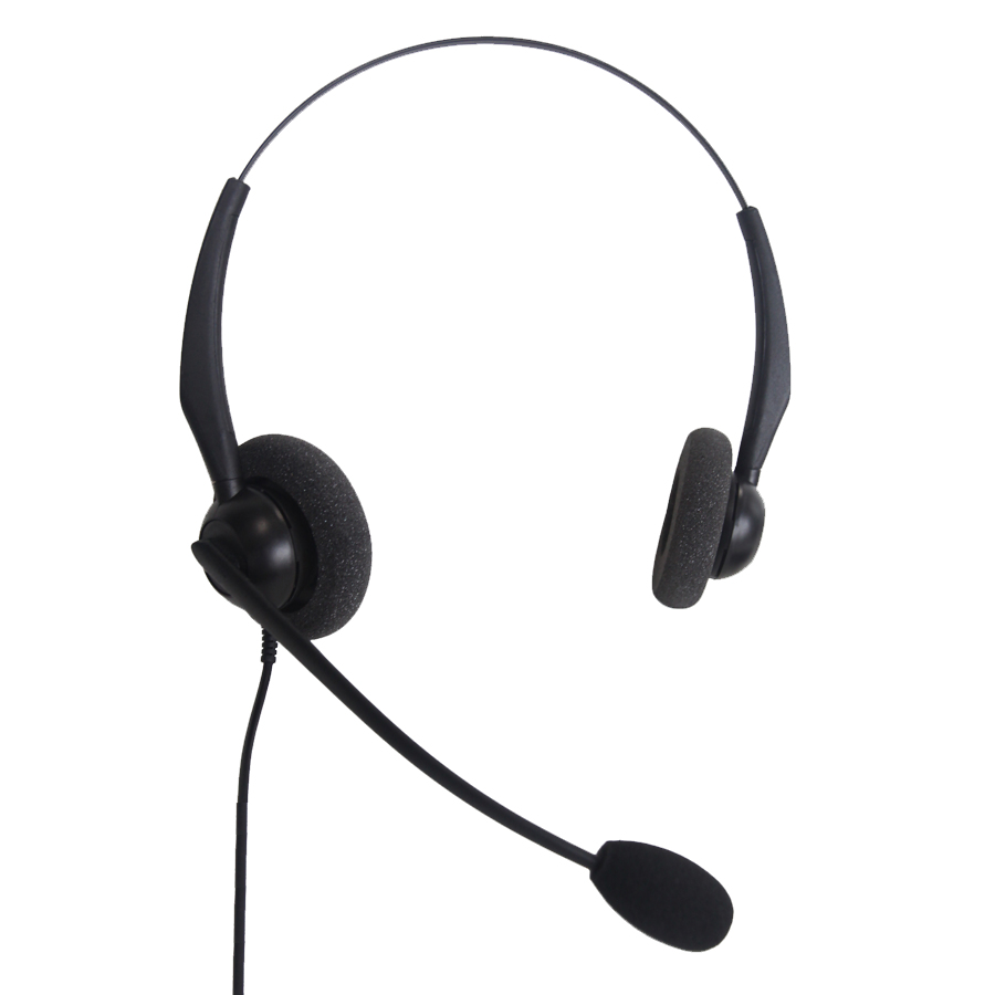 JPL 100-B Binaural Head-band Black headset