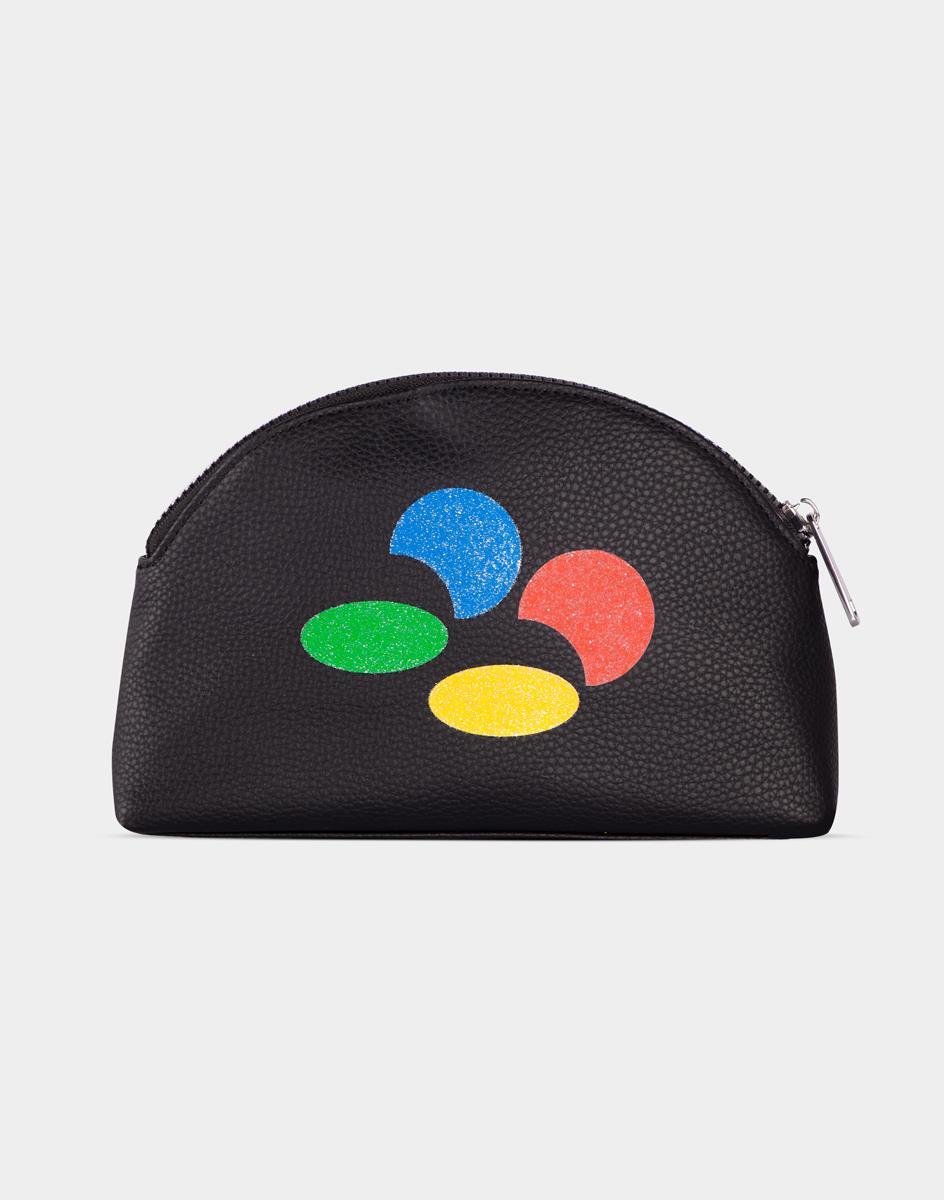 Nintendo SNES Wash Bag Multicolor Women Clutch bag