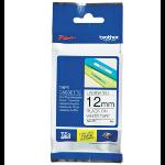 Brother TZEN231 labelprinter-tape Zwart op wit TZ
