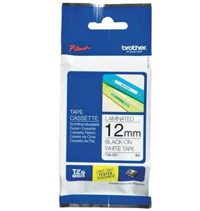 Brother TZEN231 cinta para impresora de etiquetas Negro sobre blanco TZ