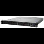 Lenovo ThinkSystem SR250 server 72 TB 3.4 GHz 8 GB Rack (1U) Intel Xeon E 450 W DDR4-SDRAM