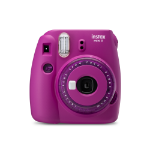 Fujifilm Instax Mini 9 Clear Purple Instant Camera inc 10 Shots